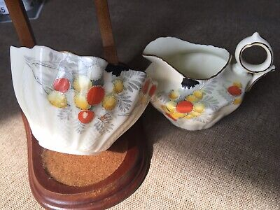 PARAGON Excellent Condition Sugar and Creamer - Numbered  ENGLAND Fine China