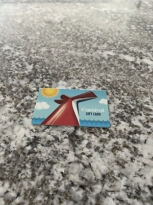 Carnival Cruise Lines 500 Gift Card No Expiration