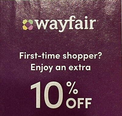 NEWEST Wayfair-com 10 Off First Order Coupon Code  121621  FAST DELIVERY