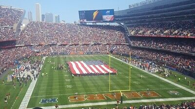 2 Tickets Chicago Bears vs San Francisco 49ers October 10312021 Soldier Field