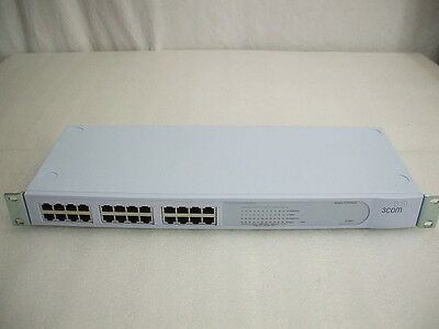 3Com 2024 3C16471-US 24-Port 100Mbps Ethernet Switch