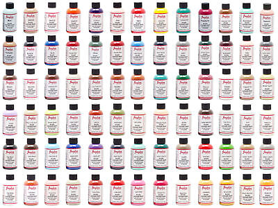 Angelus Brand Acrylic Leather Paint Waterproof all colors - 4 fl-oz