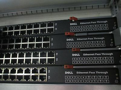 DELL WW060 10G-PTM 10GBE 16-PORT ETHERNET PASS THROUGH MODULE 0WW060 DF10MXL