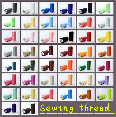 New 44 Colors 100 Polyester Standard Sewing thread each thread 200 Meters pick