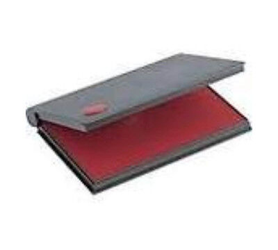 RED Rubber Stamp Pad - Felt Ink Pad Size 1 4-14 x 2-34