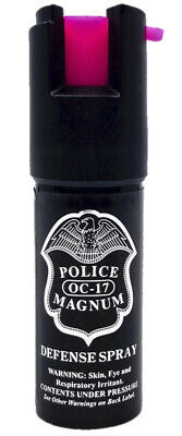Police Magnum pepper spray 12oz ounce HP Safety Lock Personal Defense Security