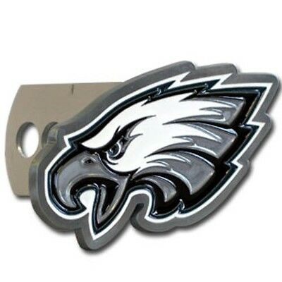 PHILADELPHIA EAGLES NFL TEAM DIE CUT 3D LOGO HITCH COVER  NEw
