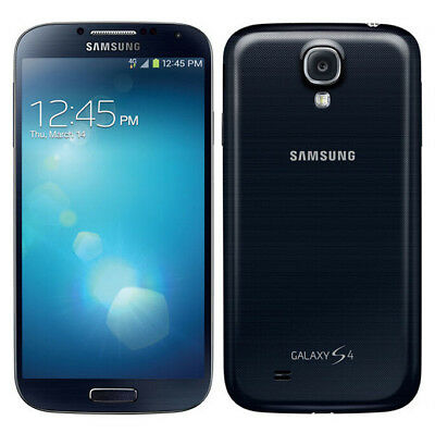 5 Samsung Galaxy S4 SPH-L720 Unlocked Android Mobile Phone -16GB - Black Mist