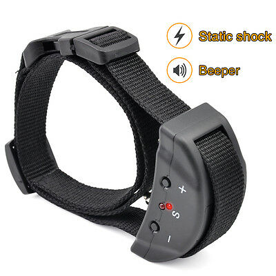 Electric Anti Bark No Barking Tone Shock Training Collar For Small Pet Dogs