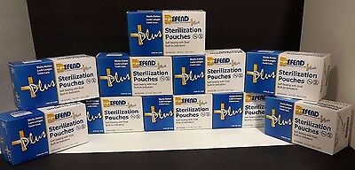 Sterilization Pouches 3-12 X 5-14 10 boxes
