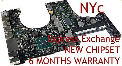EXCHANGE MACBOOK PRO 15 A1286 820-2915-B 2011 LOGIC BOARD REPAIR NEW GPU REBALL