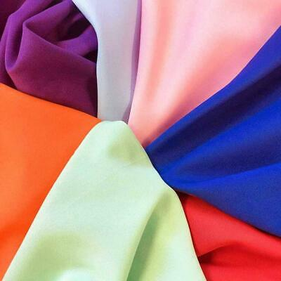 Poplin Fabric Polyester Solid 60 by the Yard Table Covers Decoration Apparel