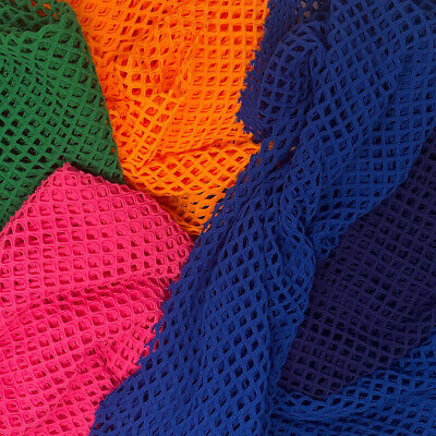 Cabaret Stretch Mesh Fabric Lycra Spandex Hole Costume Dance Wear 58 All Color