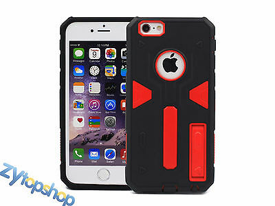 Shockproof Rugged Hybrid Rubber Rigid Hard Armor Cover Case For iPhone 6 6s 4-7