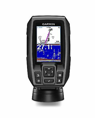 Garmin STRIKER 4 Fishfinder with 4-Pin 77200kHz TM Transducer 010-01550-00