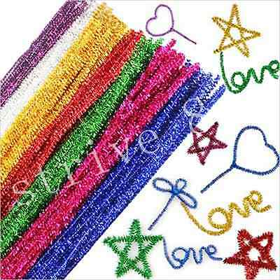 18100pcs Chenille Craft Stems Pipe Cleaners Kids Educational Toys Twist Rods
