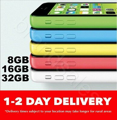 LIKE NEW Apple iPhone 5c 8GB 16GB 32GB 4G 100 Unlocked FROM MELBOURNE MR