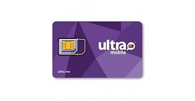 Ultra Mobile MicroRegular SIM card for Unlocked GSM Phones - FREE SHIPPING