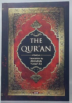 THE HOLY QURAN translation by  Abdullah Yusuf Ali - PAPERBACK 6-25in X 4-25 in