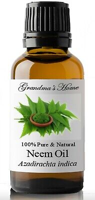 Neem Oil - 100 Pure and Natural - Cold pressed  Virgin Unrefined - US Seller