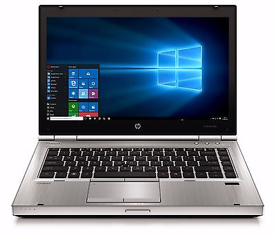 High End HP Elitebook Laptop Intel Core i5 8GB 1TB Windows 10 Wifi