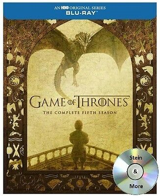 Game of Thrones The Complete Fifth Season 5 Blu-Ray 2016 Free Shipping