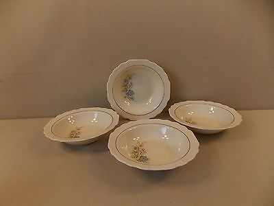 W-S- George GEO297 4 Cereal Bowls