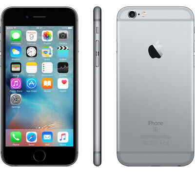 Apple iPhone 6S 16GB A1633 GSM Unlocked Smartphone-Space Gray-Good