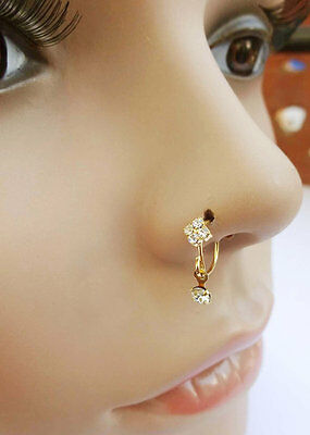 Indian Nose Ring Mothers day gift Nose Piercing Indian Nose Hoop Gold Nose Stud