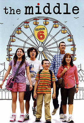 The Middle The Complete Sixth Season 6 DVD 2015 3-Disc Set New