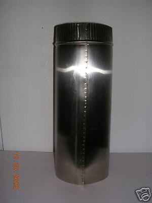 8 inch stove pipe 12 Stainless Steel  Liner
