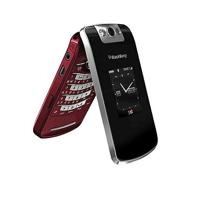 Kids Toy Dummy Cell Phone BlackBerry Pearl Flip 8220 Nonworking Fake Display Red