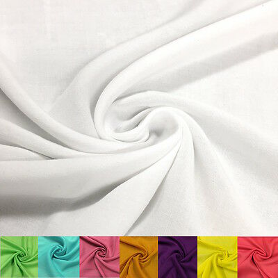 Rayon Challis Fabric 100 Rayon 5354 wide Sold by the Yard Many Colors