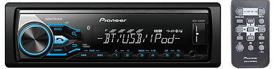 PIONEER MVH-X381BT BLUETOOTH USB AUX CAR STEREO DIGITAL MEDIA RECEIVER PLAYER