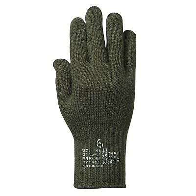 WOOL GLOVES  US MADE IN USA Olive Black Tan Grey sizes SMLXL2X