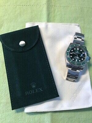 Authentic New Rolex  Velvet travel Pocket Pouch and Cleaning cloth set
