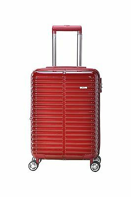 MHP International Novana 20 inch Expandable ABS Carry-on Luggage Suitcase