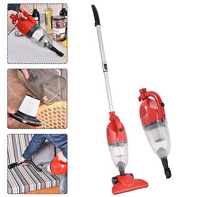 800W 2-in-1 Vacuum Cleaner Corded Upright Stick - Handheld with HEPA Filtration