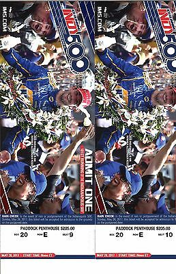 2017 Indianapolis 500 Paddock Penthouse Tickets