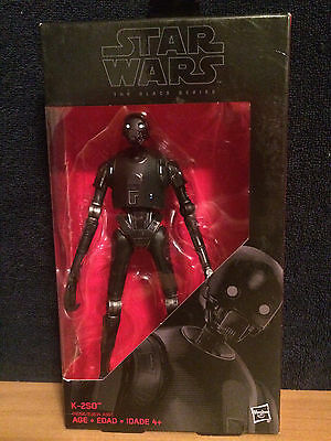 Star Wars the Black Series Rogue One K-2SO 6 Figure - New with FREE SHIPPING