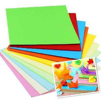 5781014-5cm Square Paper Pack 60G Coloured Sheets Origami Paper Double Sided
