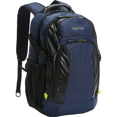 Kenneth Cole Reaction Moving Pack-Wards Computer Business - Laptop Backpack NEW