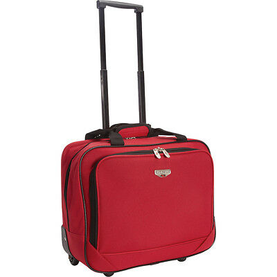 Travelers Club Luggage 17 Single-Section Rolling Wheeled Business Case NEW