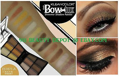 12 Color Eye Shadow Makeup Cosmetic Shimmer Matte Eyeshadow Palette -brush NEW