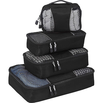 eBags Packing Cubes - 4pc SmallMed Set 5 Colors Travel Organizer NEW
