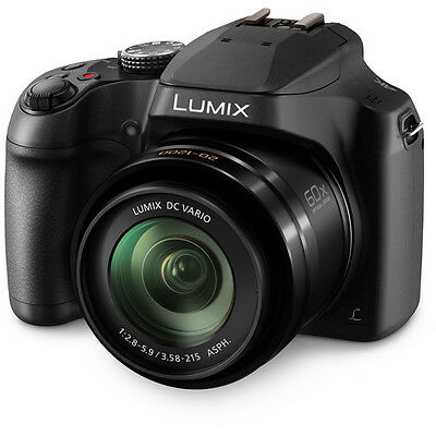 Panasonic LUMIX DC-FZ80 4K60x Zoom Digital Camera - Black NEW