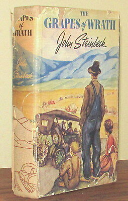 John Steinbeck THE GRAPES OF WRATH First Edition 11th Printing