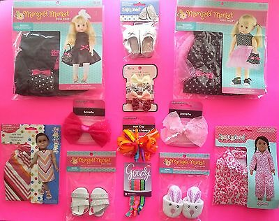 DOLL CLOTHES 18 Inch DOLLS AMERICAN GIRL  LOT of 7  NEW