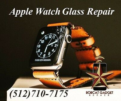 Apple Watch Series 2 ion-x Cracked Glass Screen Replacement Service