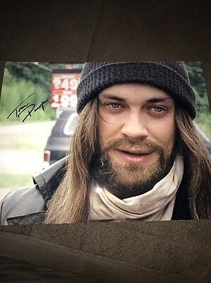 Tom Payne signed autographed photo the walking dead zombie 8-5x11